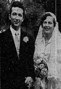 Brendan and Carmel O'Boyle on their wedding day.