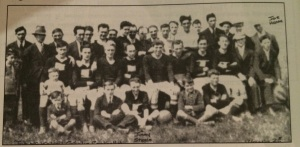 Early photo of McKelveys team, dating to around 1926 (published in Ray Quinn's A Rebel View.