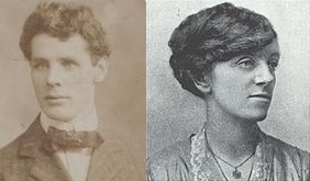 Charlie Monaghan and Winnie Carney