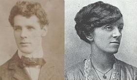 Charlie Monaghan and Winnie Carney