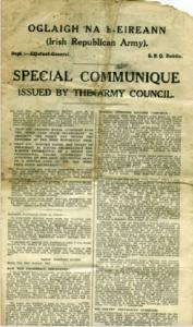 The Special Communique