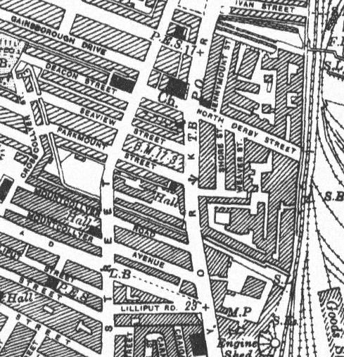 Weaver St map