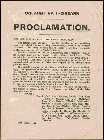 1922irapoclamation