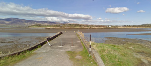 The pier at Ballykissane where Charlie Monahan met his death when a car carrying IRB members on an operation connected to the 1916 Easter Rising took a wrong turn and ended up in the sea.