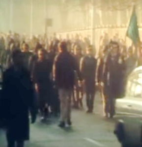 CESA march in Belfast, December 1972