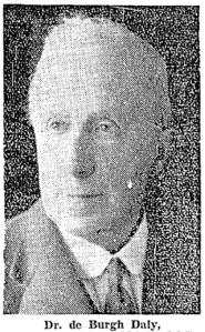 Dr De Burgh Daly