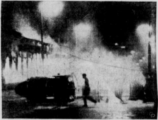 Xenia Daily Gazette cablephoto Belfast Falls 15 Aug 1969